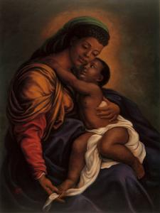 Madonna and Child by Tim Ashkar