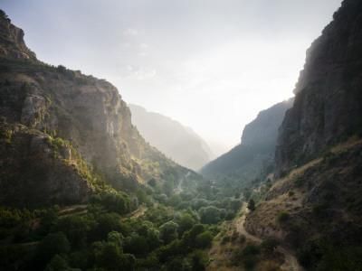 Qadisha Valley from Path Towards Bcharre