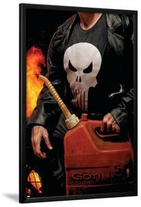 Punisher MAX No.30 Cover: Punisher by Tim Bradstreet