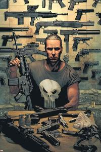 Punisher No.1 Cover: Punisher by Tim Bradstreet