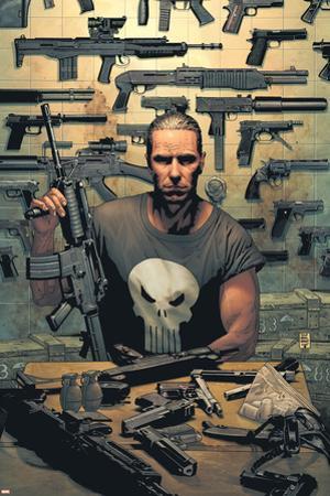 Punisher No.1 Cover: Punisher by Tim Bradstreet
