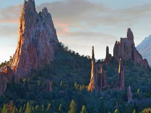 Garden of the Gods at sunrise, Colorado USA by Tim Fitzharris