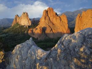 Gray Rock and South Gateway Rock, Garden of the Gods, Colorado Springs, Colorado by Tim Fitzharris
