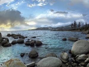 Hidden Beach, Lake Tahoe, Nevada, Usa by Tim Fitzharris