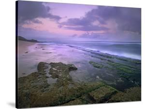 Ho'Okipa Beach at Sunset, Maui, Hawaii, Usa by Tim Fitzharris