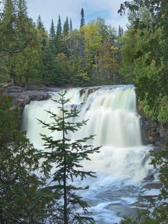 Middle Falls at Gooseberry Falls State Park, Minnesota