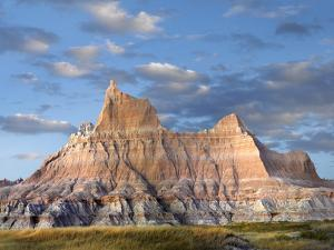 Sandstone Striations and Erosional Features, Badlands National Park, South Dakota by Tim Fitzharris/Minden Pictures