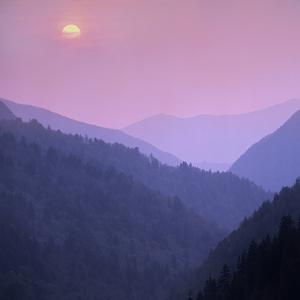 Morton Overlook, Great Smoky Mountains National Park, Tennessee, Usa by Tim Fitzharris