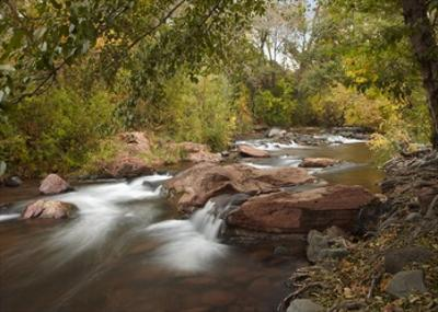 Oak Creek in Slide Rock State Park near Sedona, Arizona by Tim Fitzharris