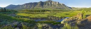 Panorama view of Windy Mountain, Wyoming by Tim Fitzharris