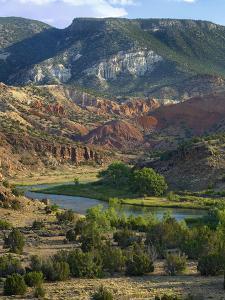 Rio Chama Near Abiquiu, New Mexico, Usa by Tim Fitzharris