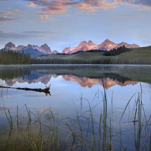 Sawtooth Range at Little Redfish Lake, Sawtooth National Recreation Area, Idaho, Usa by Tim Fitzharris
