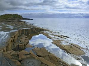 Waterscape of Lake Superior at Artists Point Grand Marais, Minnesota by Tim Fitzharris