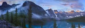 Wenkchemna Peaks and Moraine Lake, Valley of Ten Peaks, Banff NP, Canada by Tim Fitzharris