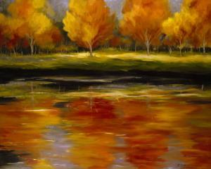 Reflections of Autumn by Tim Howe