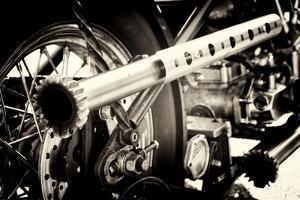 Chopper Motorbike by Tim Kahane