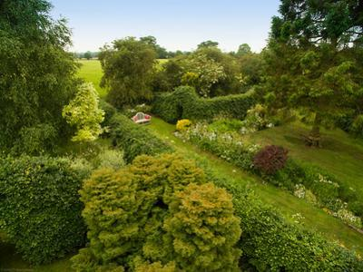 Scenic View of Country Garden