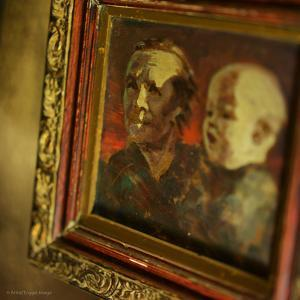 Small Vintage Painting by Tim Kahane