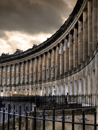 The Royal Cresecent in Bath, England by Tim Kahane