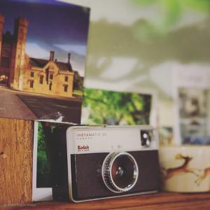 Vintage Film Camera by Tim Kahane