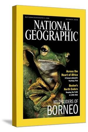 Cover of the October, 2000 National Geographic Magazine