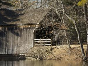 Covered Bridge at Old Sturbridge Village, Ma by Tim Laman