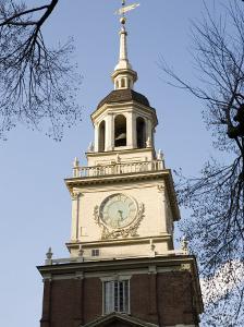 Philadelphia's Independence Hall by Tim Laman