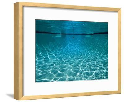 Underwater View in a Swimming Pool