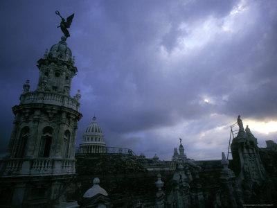 Downtown with Stormy Skies, Havana, Cuba