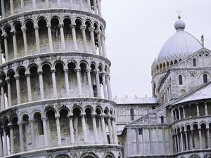 Leaning Tower of Pisa and Cathedral of Pisa by Tim Mcguire