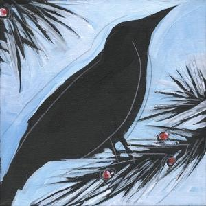 Bird And Berries 11 by Tim Nyberg
