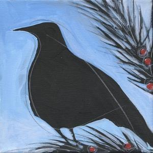 Bird And Berries 12 by Tim Nyberg