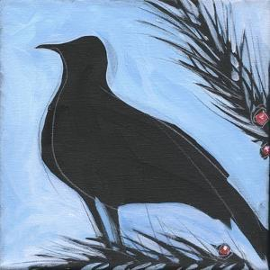 Bird And Berries 13 by Tim Nyberg