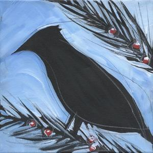 Bird And Berries 14 by Tim Nyberg