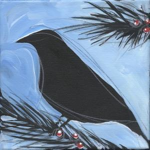 Bird And Berries 15 by Tim Nyberg