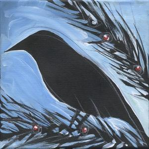 Bird And Berries 16 by Tim Nyberg
