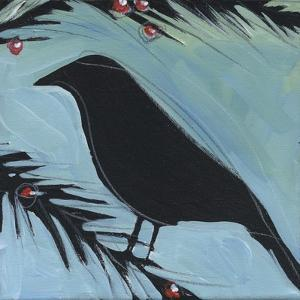 Bird And Berries 2 by Tim Nyberg