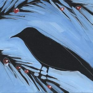 Bird And Berries 3 by Tim Nyberg