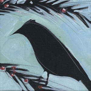 Bird And Berries 4 by Tim Nyberg