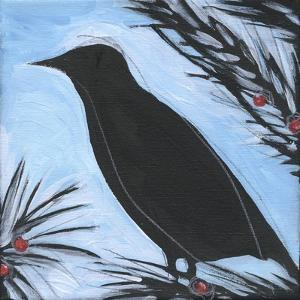 Bird And Berries 6 by Tim Nyberg