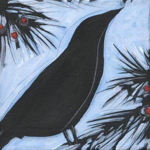 Bird And Berries 7 by Tim Nyberg