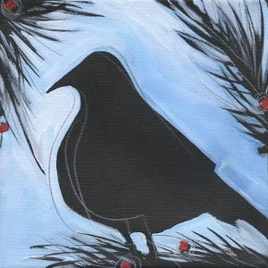 Bird And Berries 8 by Tim Nyberg