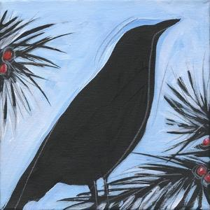 Bird And Berries 9 by Tim Nyberg