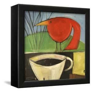 Coffee and Red Bird by Tim Nyberg