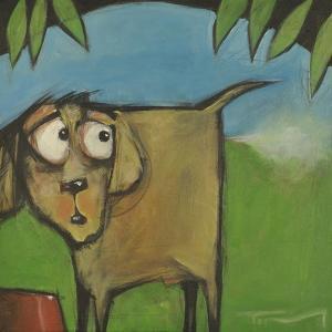 Farting Dog by Tim Nyberg