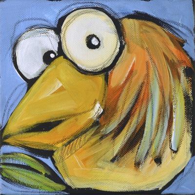 Gold Bird 2 by Tim Nyberg