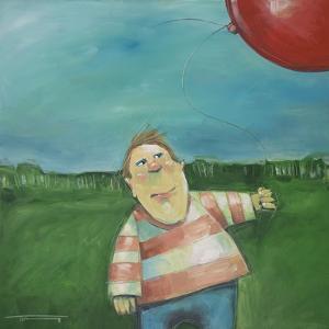 Landscape Boy Balloon by Tim Nyberg