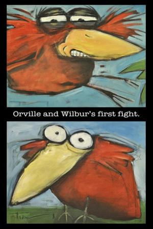 Orville and Wilbur's First Flight by Tim Nyberg