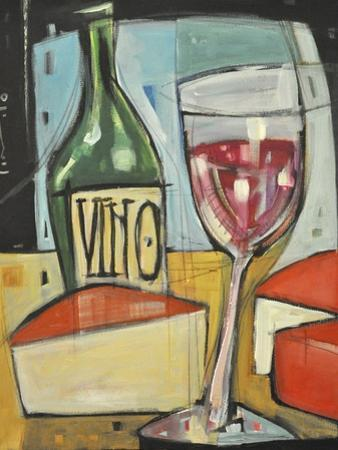 Red Wine and Cheese by Tim Nyberg