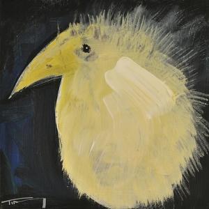 Yellow Fuzzy Bird by Tim Nyberg